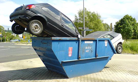 Утилизация автомобилей с 1 августа 2012 года или что такое утилизационный сбор.