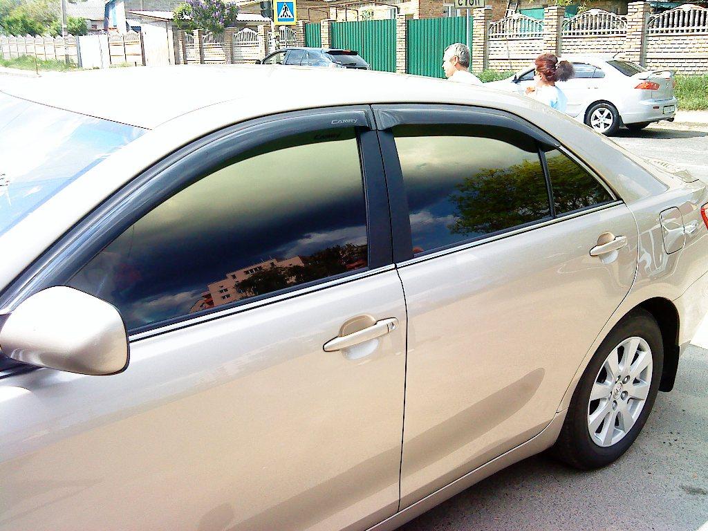 тонировка стекол в авто